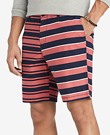 "Tommy Hilfiger Men's Reggie Stripe 9"" Shorts, Created for Macy's"