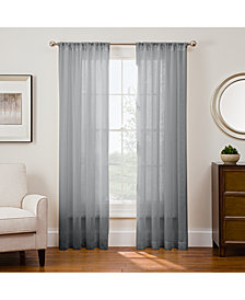 "Sharper Image Sonoma 53"" x 63"" Rod Pocket Window Panel"