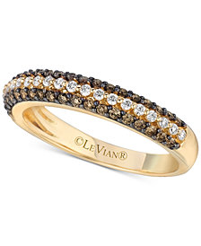 Le Vian Chocolatier® Diamond Band (1/2 ct. t.w.) in 14k Gold