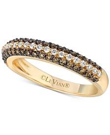 Le Vian Chocolatier® Diamond Band (1/2 ct. t.w.) in 14k Gold