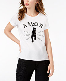 GUESS Panther Graphic-Print T-Shirt