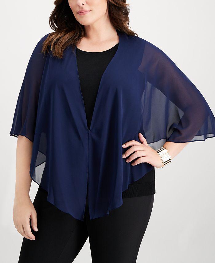 SL Fashions - Plus Size Multi-Wear Shawl