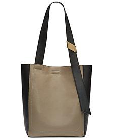 Calvin Klein Karsyn Leather Tote