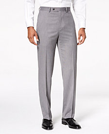 Sean John Men's Classic-Fit Stretch Gray Tic Suit Pants