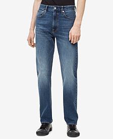 Calvin Klein Jeans Men's Relaxed Straight-Fit Jeans, CKJ 037