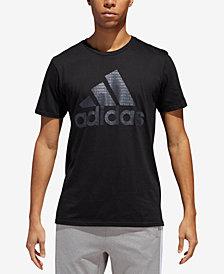 adidas Men's ClimaLite® Printed-Logo T-Shirt