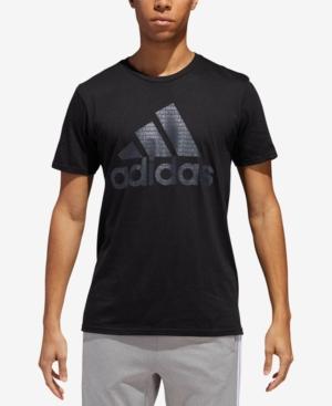 adidas Men's ClimaLite Printed-Logo T-Shirt