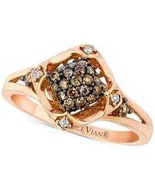 Le Vian® Diamond Cluster Ring (1/4 ct. t.w.) in 14k Rose Gold