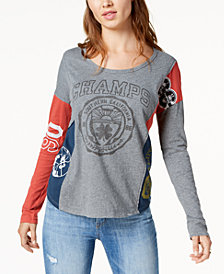 Lucky Brand Varsity Long-Sleeve T-Shirt