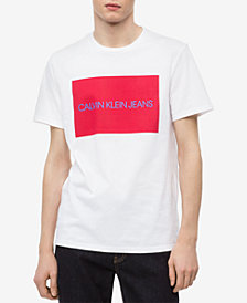 Calvin Klein Jeans Men's Big and Tall Logo-Print T-Shirt