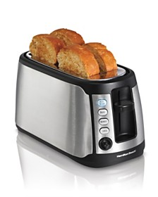 Hamilton Beach Keep Warm 4 Slice Long Slot Toaster
