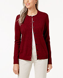Karen Scott Marled Cardigan, Created for Macy's