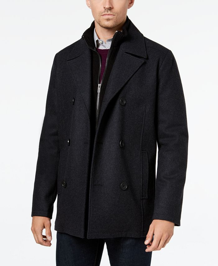 Kenneth Cole - Men's Peacoat and Bib