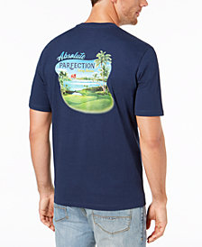 8645995cc Tommy Bahama Men's Absolute Parfection Graphic T-Shirt