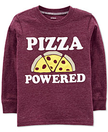 Carter's Baby Boys Pizza Powered Graphic Shirt