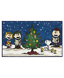 "Nourison Peanuts Holiday 18"" x 30"" Accent Rug"