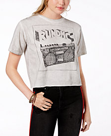 Bravado Juniors' Cotton RUN DMC Graphic-Print T-Shirt