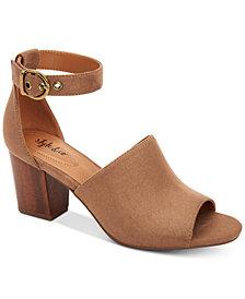 Style & Co Priyaa Block-Heel Sandals, Created for Macy's