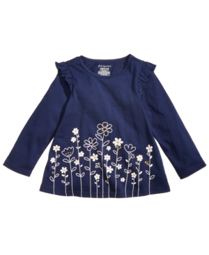 First Impressions Baby Girls FloralPrint Ruffle Tunic Created for Macys