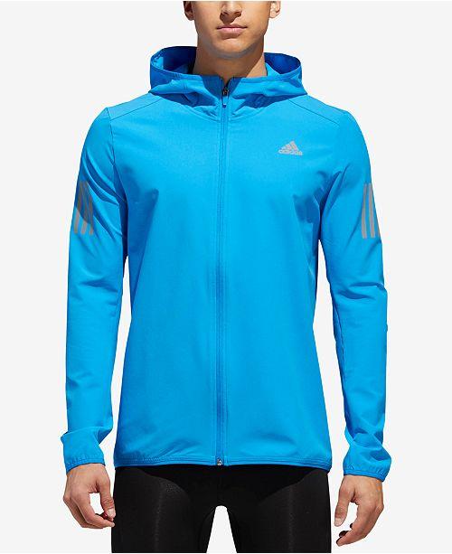 e8ed58654d79 adidas Men s Response Hooded Jacket   Reviews - Coats   Jackets ...