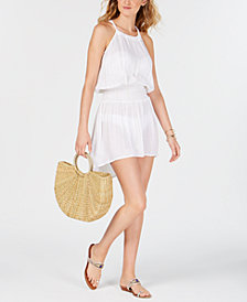 La Blanca Glam Getaway Smocked Dress Cover-Up