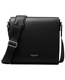 Michael Kors Men's Leather Medium Messenger Bag