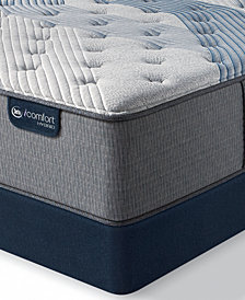 "iComfort by Serta Blue Fusion 1000 14.5""  Hybrid Luxury Firm Mattress Set - Queen Split"