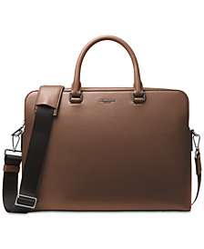 Michael Kors Men's Harrison Leather Briefcase