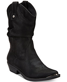 American Rag Kallie Cowboy Boots, Created for Macy's
