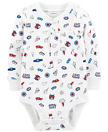 Carter's Baby Boys Super Hero-Print Cotton Bodysuit