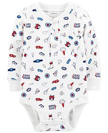 Carter's Baby Boys Super Hero-Print Cotton Bodysuit