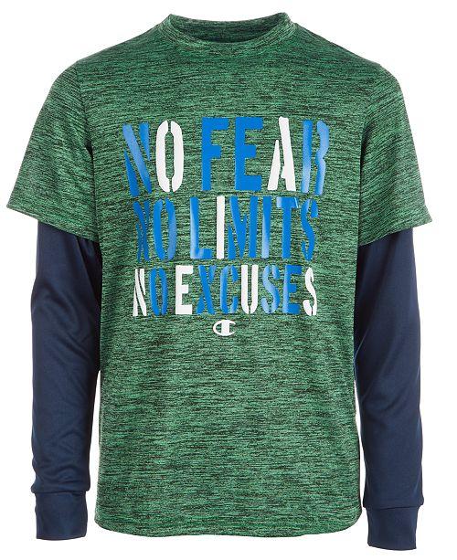 111c05003b3 Champion Toddler Boys Fear-Print T-Shirt - Shirts   Tees - Kids - Macy s