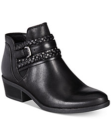 Baretraps Giles Pointed-Toe Western Booties