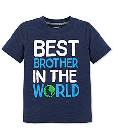Carter's Toddler Boys Best Brother-Print T-Shirt