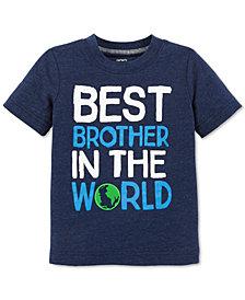 Carter's Toddler Boys Best Brother-Print T-Shirt