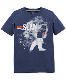 Carter's Little & Big Boys Baseball-Print T-Shirt