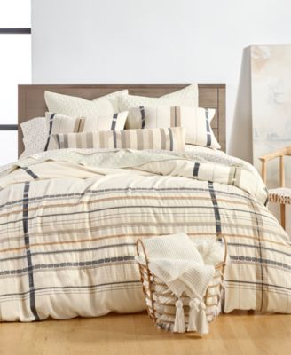 Ojai Cotton 2-Pc. Twin Duvet Cover Set, Created for Macy's