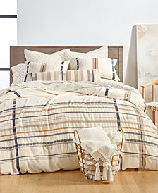 Lucky Brand Ojai Cotton 3-Pc. Full/Queen Duvet Cover Set, Created for Macy's