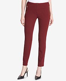Calvin Klein Skinny Crepe Pants