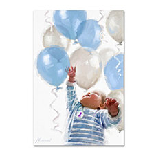 The Macneil Studio 'Baby with Balloons' Canvas Art Collection