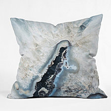 Deny Designs Bree Madden Ice Crystals Throw Pillow