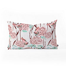 Deny Designs Holli Zollinger French Hydrangea  Oblong Throw Pillow