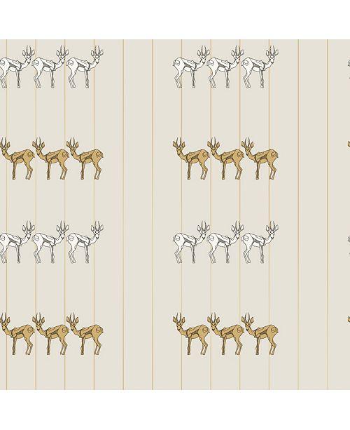 Tempaper Novogratz for Spirit Animal Self-Adhesive Wallpaper