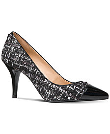 MICHAEL Michael Kors MK-FLEX Capped-Toe Pumps