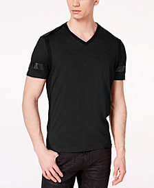 I.N.C. Men's Colorblocked Speed T-Shirt, Created for Macy's