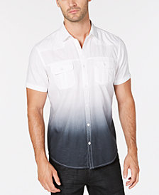 I.N.C. Men's Dip Dyed Shirt, Created for Macy's