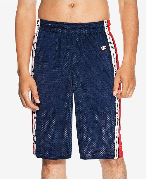 0faf17d00127 Champion Men s Reversible Mesh Shorts   Reviews - Shorts - Men - Macy s