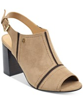 d27ade93a3dd Tommy Hilfiger Relita Block-Heel Dress Sandals