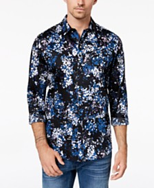 I.N.C. Men's Floral Shirt, Created for Macy's