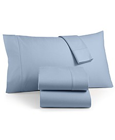 Luxury 100% Cotton Flannel 4-Pc. Queen Sheet Set, Created for Macy's